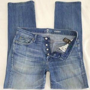 7 FOR ALL MANKIND 7FAM The STANDARD STRETCH JEANS